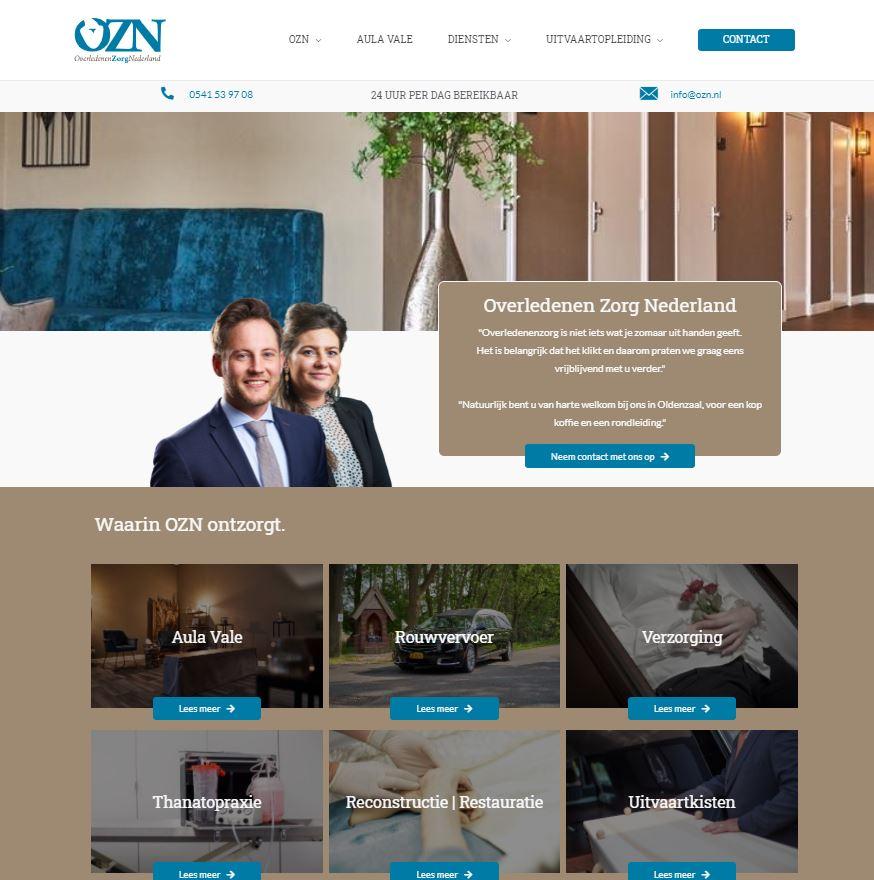 website ozn nieuw